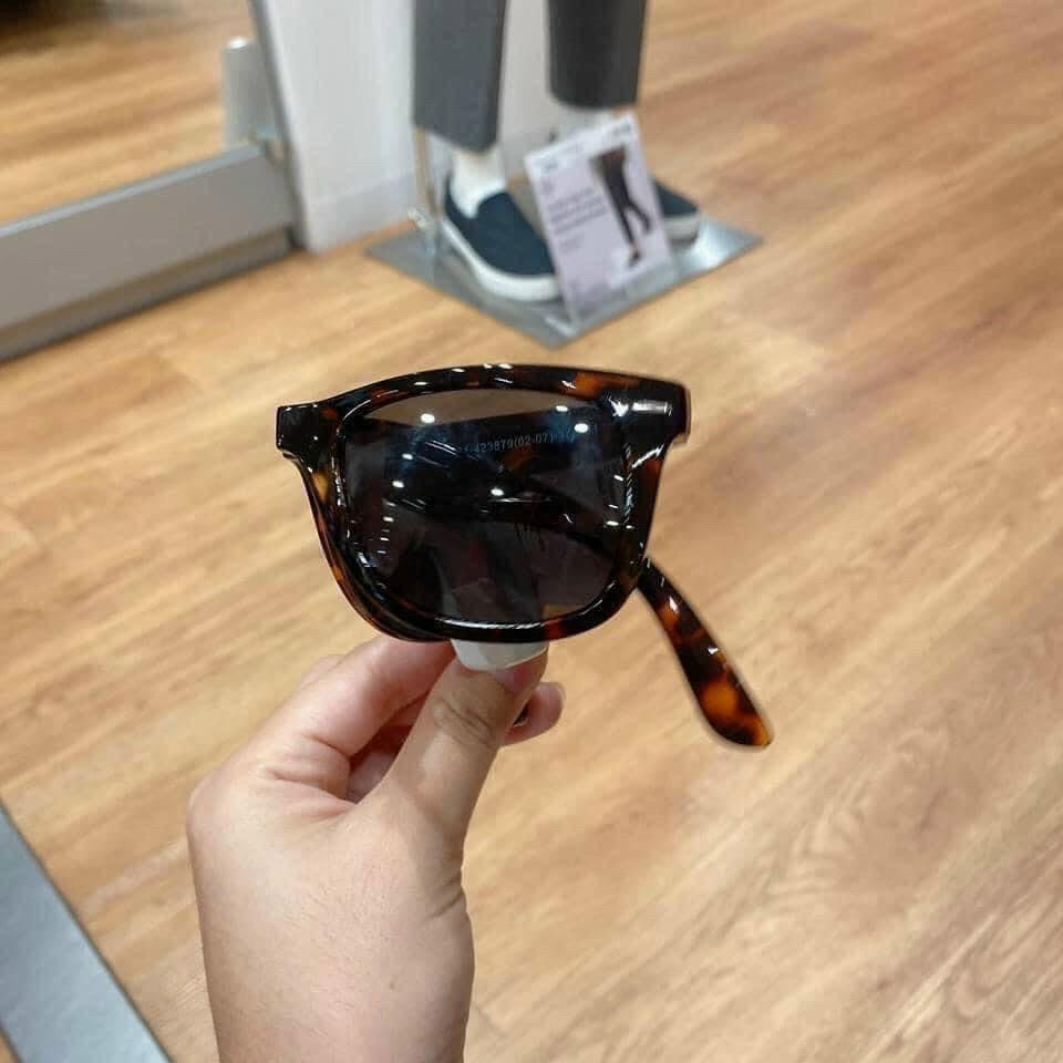 Kính râm gọng gập FolDing Sunglasses Book chống tia UV nội địa Nhật