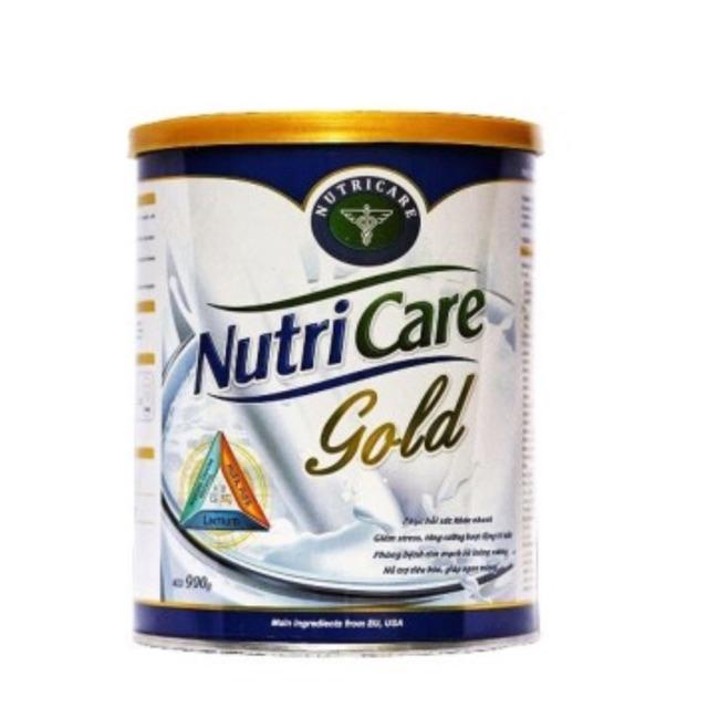 Sữa Nutricare gold (900g) dành cho người lớn và trẻ e trên 10 tuổi