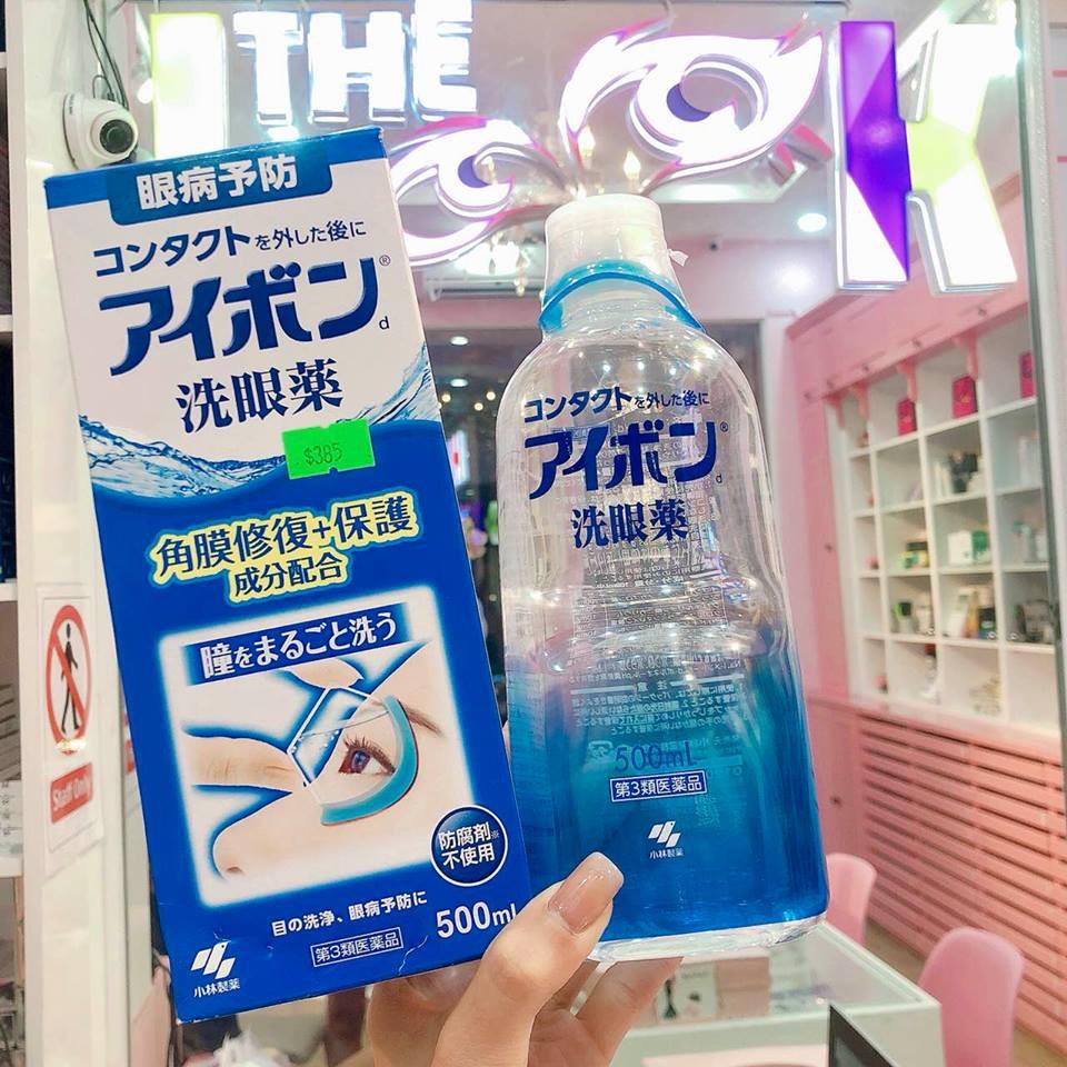 Nước rửa mắt EYEBON D LIQUID 500ml +Tặng Kèm Cốc Nhãn Khoa