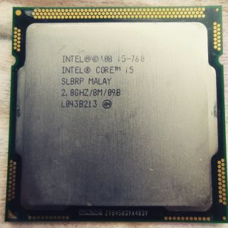 CPU Intel core i5 760 sk 1156