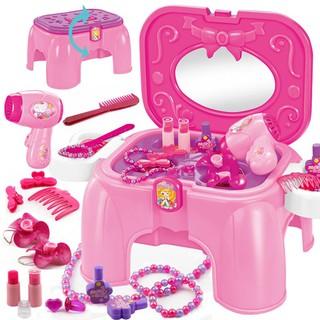 Bộ đồ chơi trang điểm bằng nhựa dễ thương dành cho bé gái