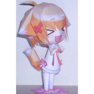 Mô hình giấy anime girl Nữ cáo siêu dễ thương