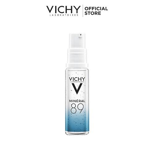 Bộ kem chống nắng không gây nhờn rít Vichy Ideal Soleil Mattifying 50ml và Dưỡng chất Khoáng núi lửa Mineral 89 10ml