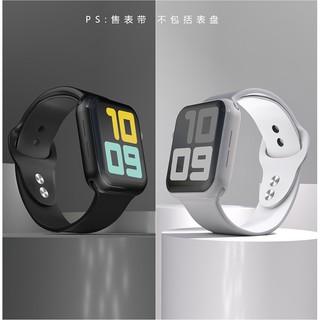 Dây Apple Watch Cao Su - Dây Đeo Silicon Mềm Cho Apple Watch Iwatch Size 38mm 40mm thumbnail