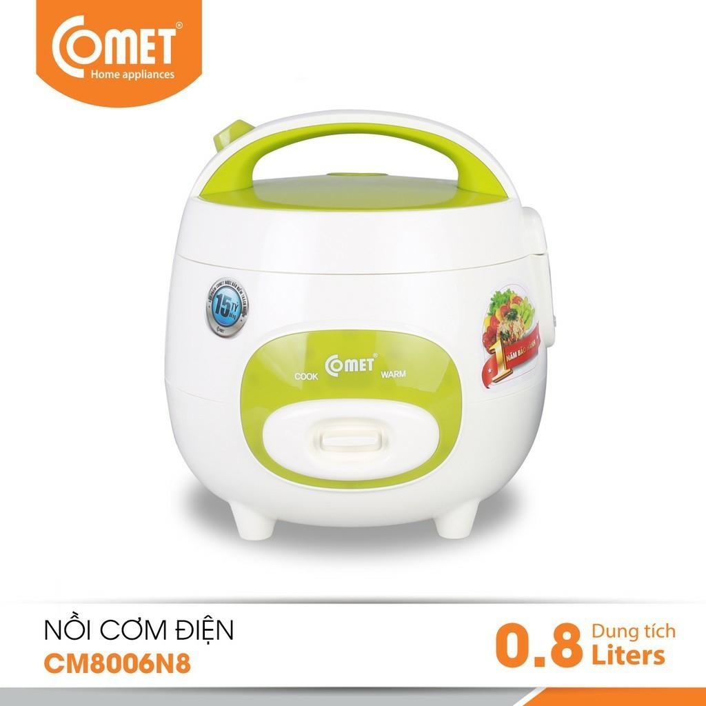 NỒI CƠM ĐIỆN COMET CM8006N8 - DUNG TÍCH 0.8 LÍT