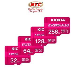 Thẻ nhớ MicroSDXC Kioxia Exceria Plus 32GB / 64GB / 128GB / 256GB U3 4K V30 A1 (Tím)