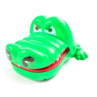 Hot Sell Creative Practical Jokes Mouth Tooth Alligator Hand Children'S Toys