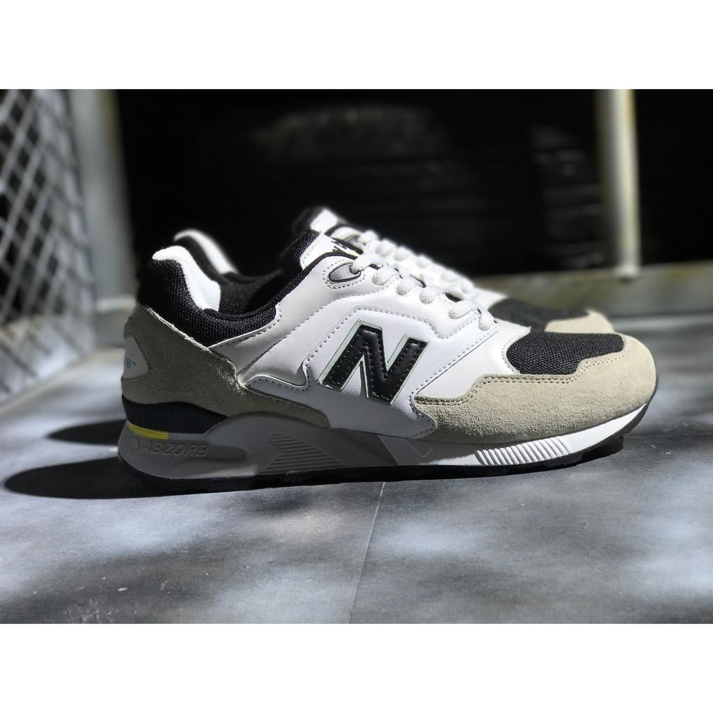the latest 609e3 cd691 New Balance 878 NB 878 รองเท้าวิ่งสีขาวสีดำสำหรับผู้ชาย ...