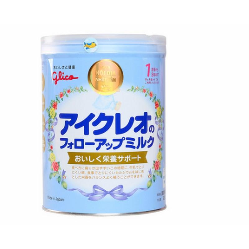 Sữa bột nhập khẩu Glico 1 900g (9 tháng -3 tuổi) hàng nhập khẩu date tháng 4/2019