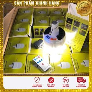 [Rẻ vô địch] Bóng đèn tích điên 100W có remote điều khiển và tấm pin năng lượng mặt trời