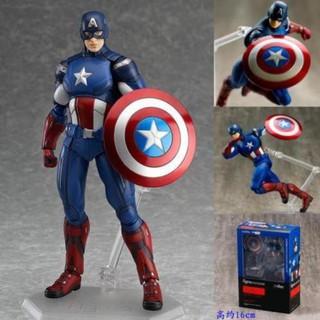 Mô Hình Captain America – The Avengers – Figma 226 hàng Quảng Châu