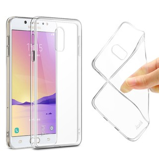 Ốp Silicon Samsung J7+ / C8 (Trong suốt)