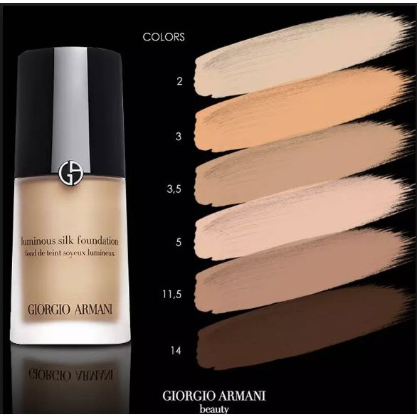 Kem Nền Giorgio Armani Luminous Silk Foundation | Shopee Việt Nam