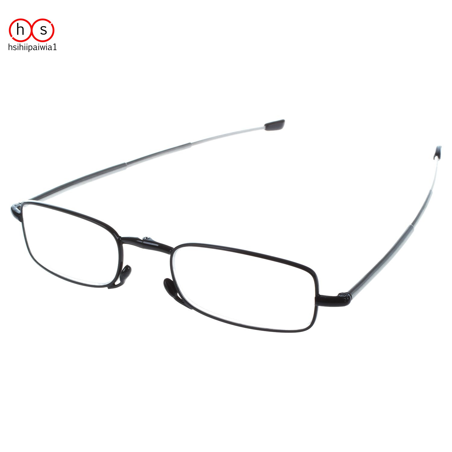 1 Pairs Folding Reading for Men and Women Eyeglass +1.0 black