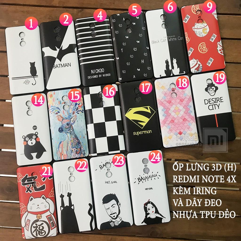 (16mẫu) Ốp lưng Xiaomi Redmi Note 4X (Note 4 chip 625, hình 3D ,nhựa TPU dẻo - 3101413 , 888815118 , 322_888815118 , 68900 , 16mau-Op-lung-Xiaomi-Redmi-Note-4X-Note-4-chip-625-hinh-3D-nhua-TPU-deo-322_888815118 , shopee.vn , (16mẫu) Ốp lưng Xiaomi Redmi Note 4X (Note 4 chip 625, hình 3D ,nhựa TPU dẻo