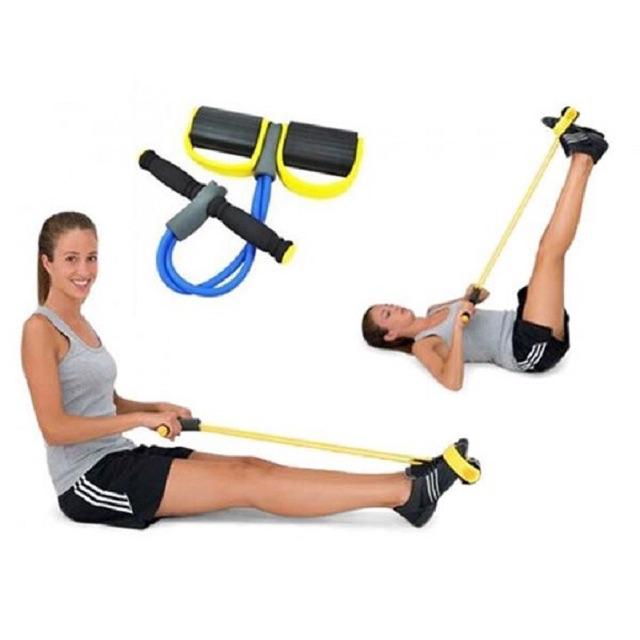 Dây kéo lưng, Dây tập thể dục, tập gym, tập cơ bụng thông minh điều chỉnh lực kéo