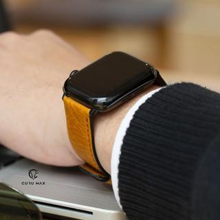 [Mới Nhất 2020] Dây da Textured Leather Band for Apple Watch series 5/4/3/2/1