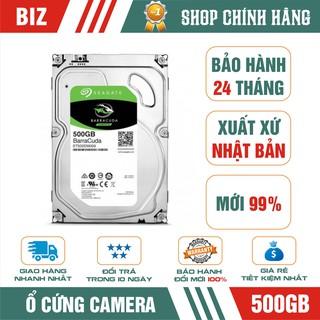 Ổ cứng HDD 500GB Seagate Barracuda - Bảo hành chính hãng 24 tháng!!!