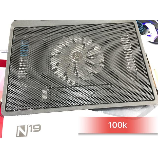 Đế tản nhiệt laptop N19 - 3219539 , 317198797 , 322_317198797 , 60000 , De-tan-nhiet-laptop-N19-322_317198797 , shopee.vn , Đế tản nhiệt laptop N19