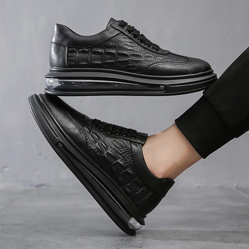 [FREESHIP - DA THẬT] Giày Sneaker MC.Q Dập Vân Cá Sấu New 2021 - Fullboxx