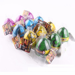 4pcs/Set Kids Toy Magic Inflatable Hatching Dinosaur Add Water Growing Dino Eggs