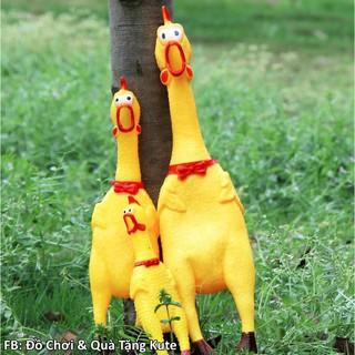 Gà Bóp La Hét – Gà Bóp Kêu (Size 32cm) đồ chơi thú cưng |shopee. VnShopgiayred Cprooo