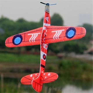 Đồ chơi máy bay xốp , hình máy bay , có gắn kích thước 19cm
