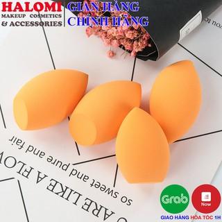 Bông mút tán nền trang điểm PUFF trứng vàng chính hãng cao cấp siêu mềm mịn giúp cho tán mượt đều lớp nền trang điểm
