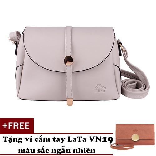 Túi đeo chéo nữ thời trang LATA HN59 tặng ví cầm tay VN19[Hàng Mới]