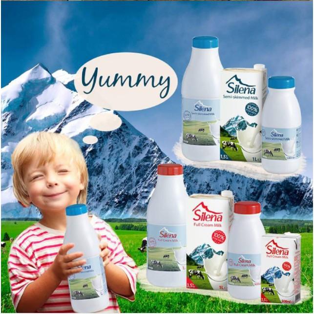 Sữa tươi tiệt trùng Silena Nguyên Kem 1L