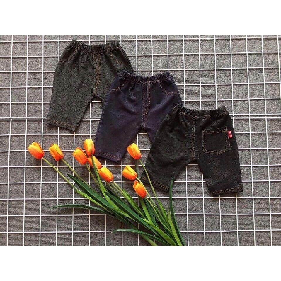 Quần legging giả jean cho bé 7-28kg - 2612676 , 983061640 , 322_983061640 , 60000 , Quan-legging-gia-jean-cho-be-7-28kg-322_983061640 , shopee.vn , Quần legging giả jean cho bé 7-28kg