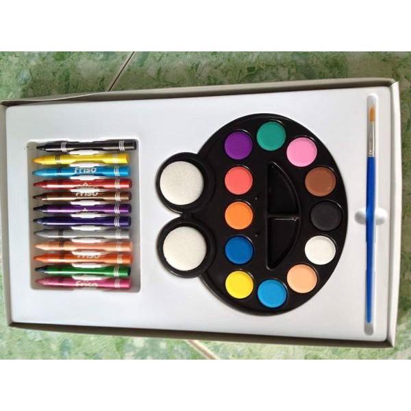 Bộ màu sáng tạo với vân tay Friso 3 bộ