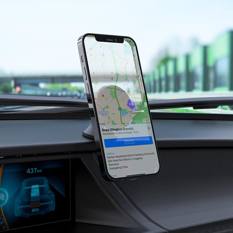Giá đỡ điện thoại trên oto xe hơi Hoco CB79 - vienthonghn