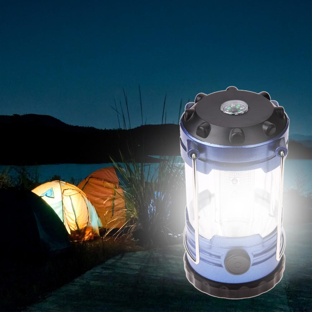 Đèn cắm trại có la bàn tiện lợi