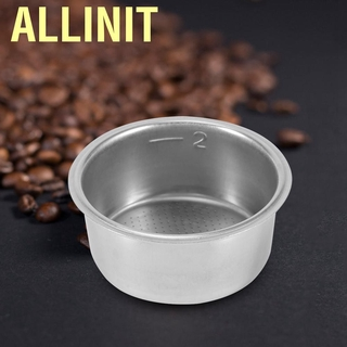Allinit Stainless Steel Filter Coffee Maker Accessories for 51mm High Pressure Machine