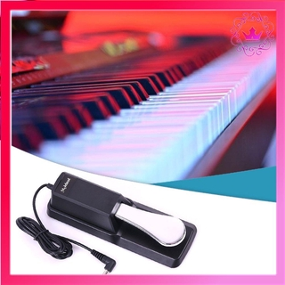 ⚛Keyboard Electric Piano Synthesizer Midi Keyboard Metal Sustain Pedal