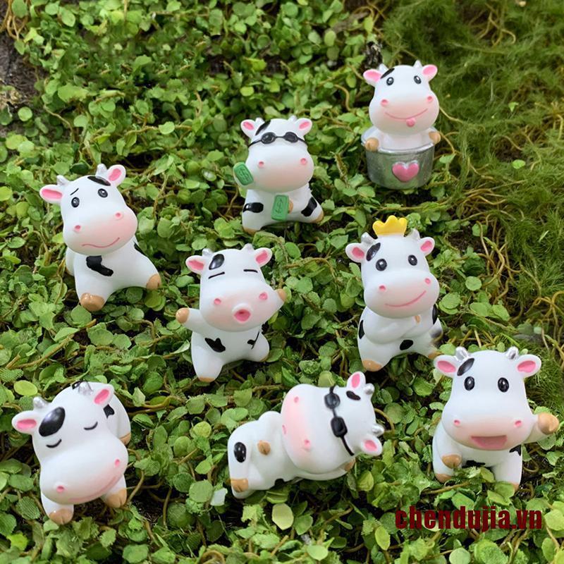 Con bò mini dùng trang trí tiểu cảnh
