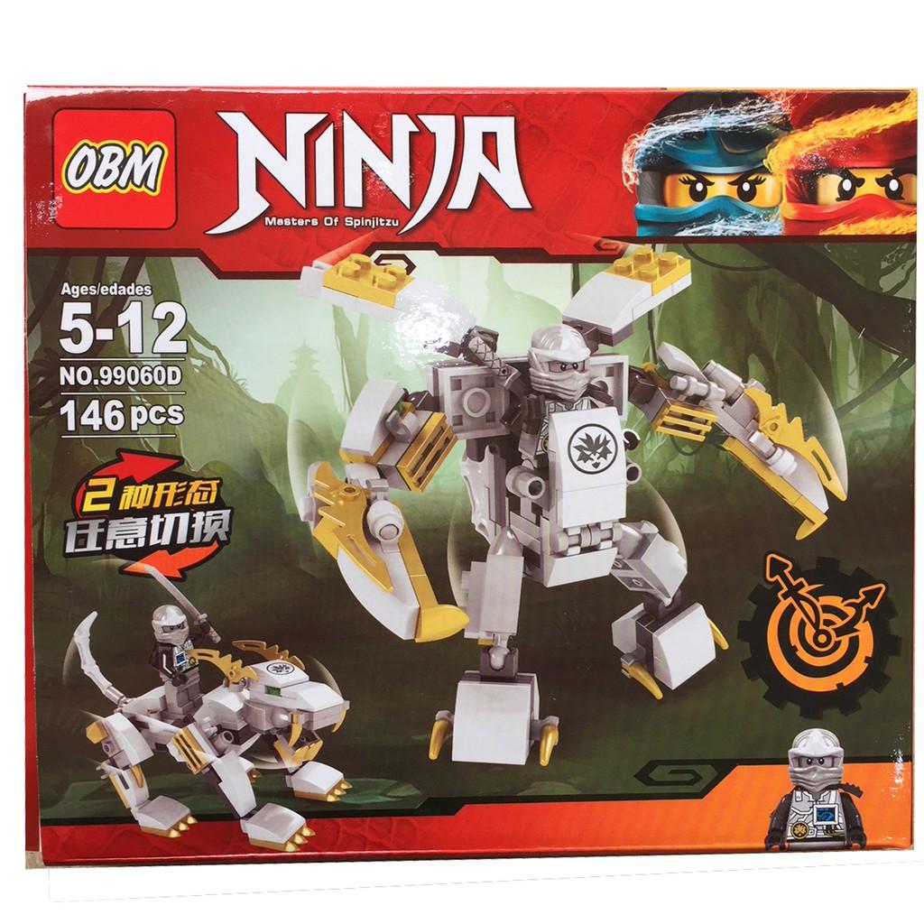 Lego xếp hình Ninja 146 pcs