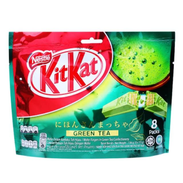 Bánh xốp phủ sô cô la trà xanh Nestlé KitKat 136g - 2574577 , 395173881 , 322_395173881 , 95000 , Banh-xop-phu-so-co-la-tra-xanh-Nestle-KitKat-136g-322_395173881 , shopee.vn , Bánh xốp phủ sô cô la trà xanh Nestlé KitKat 136g