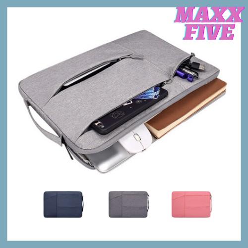 Túi chống sốc Laptop Macbook cao cấp 13,3 14 15,6 inch ST02 II Bảo Hành 1 Năm II Đựng Bao Da Nam Nữ II 2020