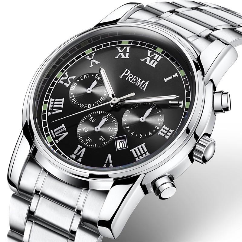 Đồng hồ nam Prema phong cách doanh nhân sang trọng lịch lãm DH18