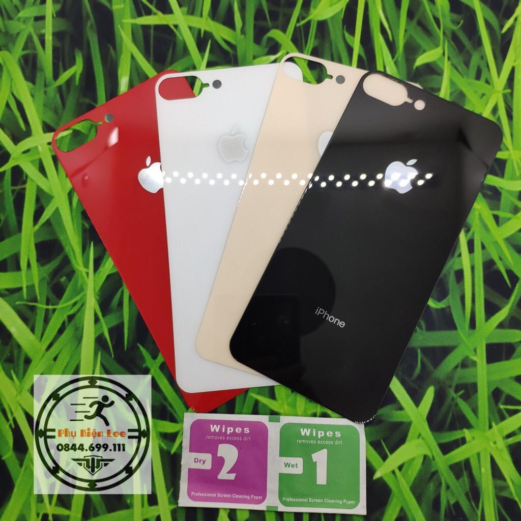 Cường Lực mặt lưng giả iphone 8 ốp silicon trong cao cấp cho iPhone 6/6plus/7/7plus/8/