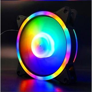 Quạt Fan COOLMOON S3 RGB fixed (Không cần Hub)