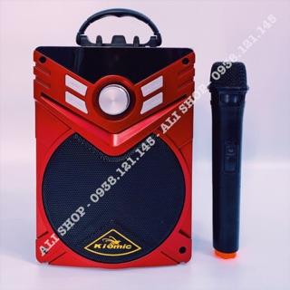 [Micro Không Dây]Loa Kéo Karaoke Kiomic K56 Chính Hãng Âm Thanh Hay Nâng Cấp P88 P89