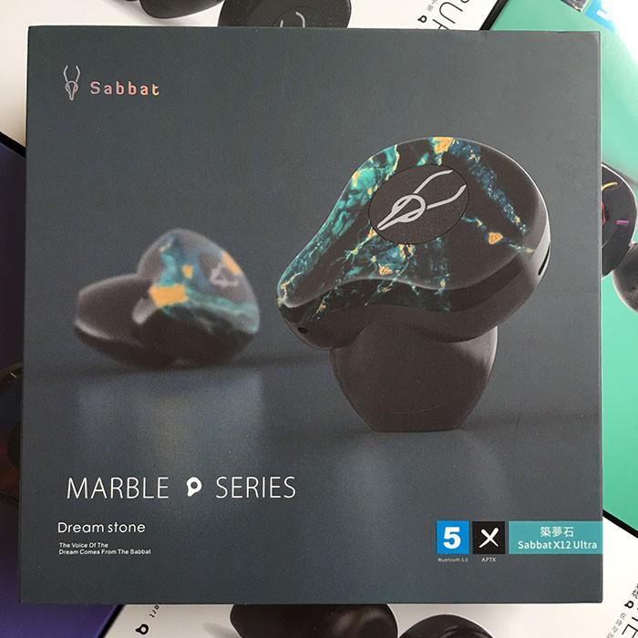 Tai nghe Sabbat X12 Ultra Dream Stone - Tai nghe bluetooth cao cấp(Marble Seres)