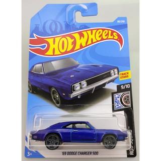 Xe mô hình Hot Wheels '69 Dodge Charger 500 FYD94