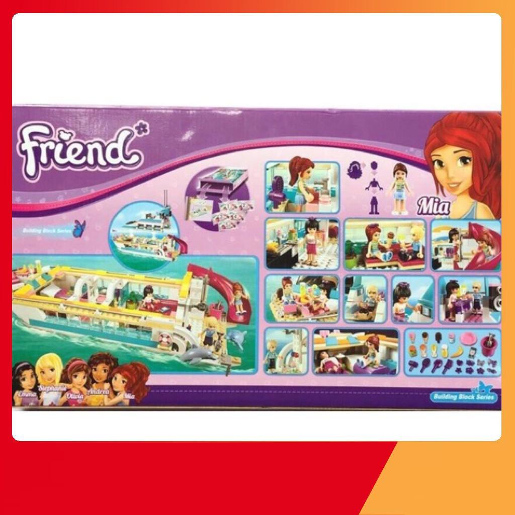 [Giá Hủy Diệt] Mô hìnhLego Friend 10172 Friends Chiếc tàu sang trọng