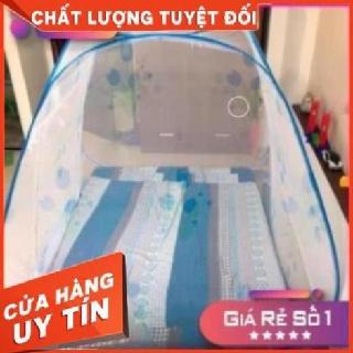 Mùng chụp tự bung đỉnh rộng 1.6m/1.8m x 2m hàng Việt Nam chất lượng xuất khẩu