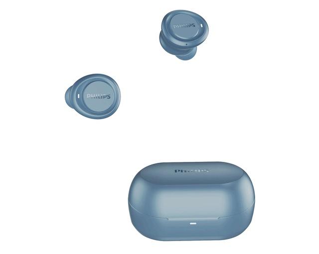 [Mã 267ELSALE hoàn 7% xu đơn 300K] Tai nghe Bluetooth Philips TAT1215BL/97 - Màu xanh