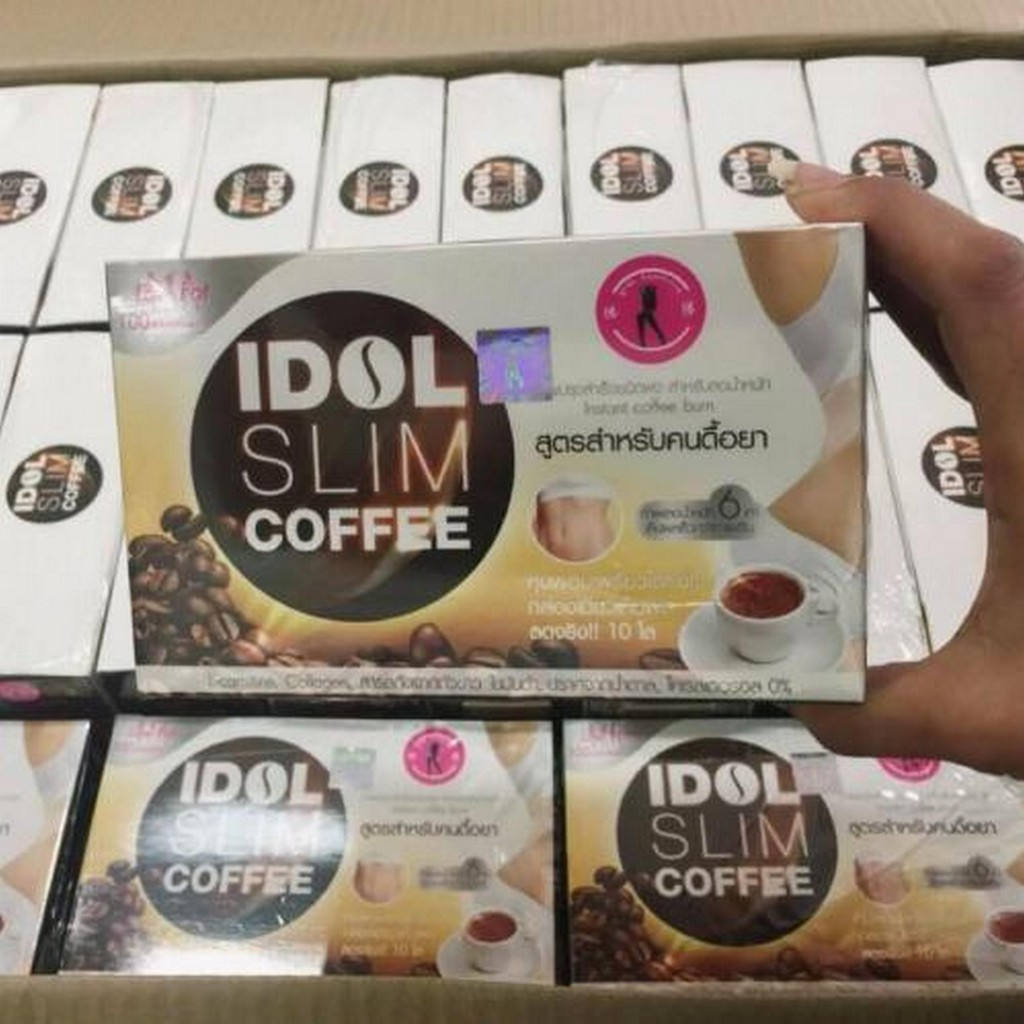 Combo 10 hộp cà phê giảm cân giá sỉ Cafe giảm cân IDOL SLIM COFFEE nhập khẩu Thái Lan (15g X 10 gói) - 3013291 , 1127127721 , 322_1127127721 , 720000 , Combo-10-hop-ca-phe-giam-can-gia-si-Cafe-giam-can-IDOL-SLIM-COFFEE-nhap-khau-Thai-Lan-15g-X-10-goi-322_1127127721 , shopee.vn , Combo 10 hộp cà phê giảm cân giá sỉ Cafe giảm cân IDOL SLIM COFFEE nhập k